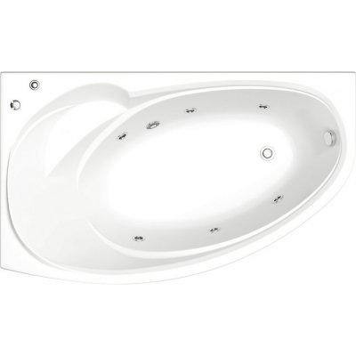 Акриловая ванна Bas Флорида 160 см L с г/м