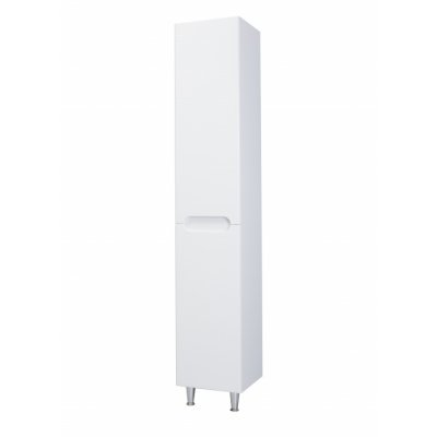 Шкаф-пенал Bellezza Андрэа 35 R белый, с бельевой корзиной