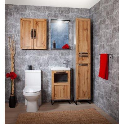Комплект мебели Бриклаер Лофт 45 Метрополитен грей
