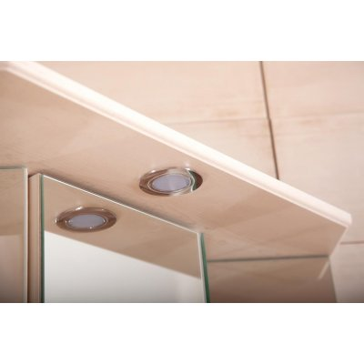 Зеркало-шкаф Бриклаер Кантри 60 Бежевый дуб прованс угловой с балюстрадой-3