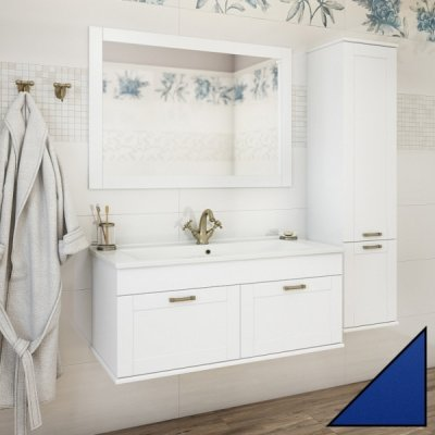 Комплект мебели Sanflor Ванесса 105 подвесная, индиго