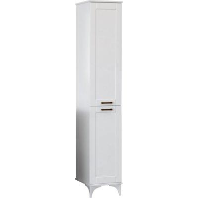 Шкаф-пенал Sanflor Ванесса 2 R напольный, белый