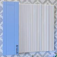 Зеркало-шкаф Sanflor Глория 65 L, голубой