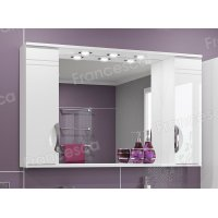 Зеркало-шкаф Francesca Доминго 120