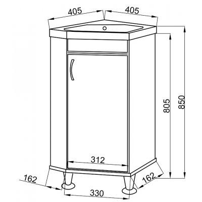 Комплект мебели Ceruttispa Венеция 40-4