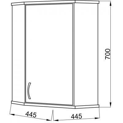 Комплект мебели Ceruttispa Венеция 40-5