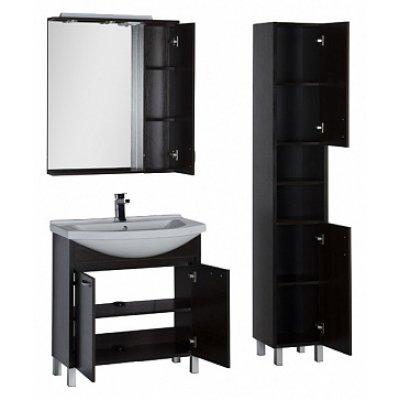 Зеркало-шкаф Aquanet Донна 80 венге-1