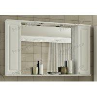 Зеркало-шкаф Francesca Империя 120 3С белый (2 шкафа)