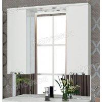 Шкаф-зеркало Francesca Виктория 100 белый