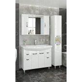 Комплект мебели Francesca Eco Max 105 белый (2 ящ. ум. Элеганс 105)