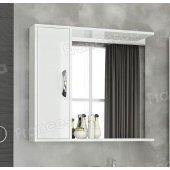 Шкаф-зеркало Francesca Max Plus 80 белый