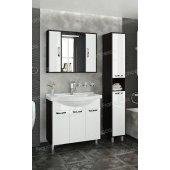 Комплект мебели Francesca Eco Max 90 белый-венге (3 дв. ум. Эльбрус 90)