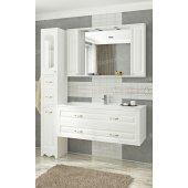 Комплект мебели Francesca Империя П 120-2 подвесной белый