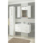 Комплект мебели Francesca Империя П 90-2 подвесной белый