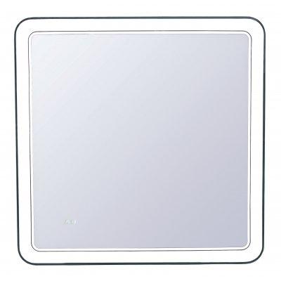 Зеркало Style Line Атлантика 80 с подсветкой и часами