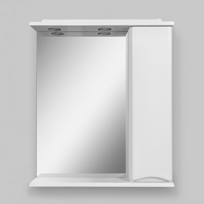 Зеркало-шкаф Am.Pm Like 65, белый глянец
