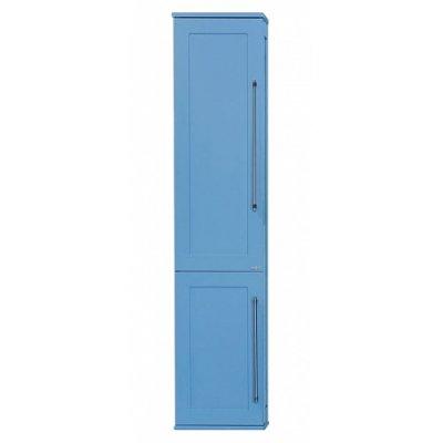 Шкаф-пенал Misty Марта 35 голубой матовый