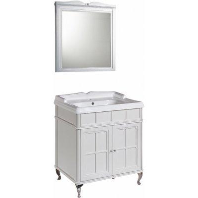 Комплект мебели Caprigo Borgo 70 bianco-grigio, с раковиной Caprigo CH-700