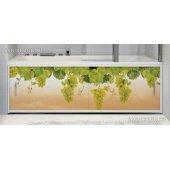 Фотоэкран под ванну Francesca Premium Виноградная лоза