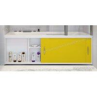 Экран под ванну Francesca Premium желтый