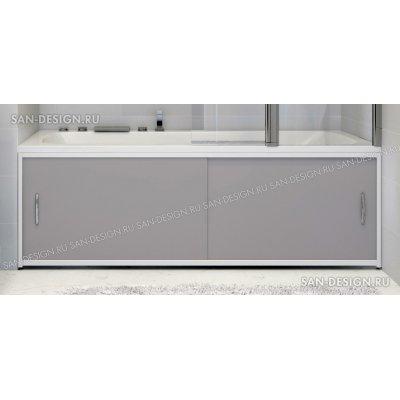 Экран под ванну Francesca Premium серый