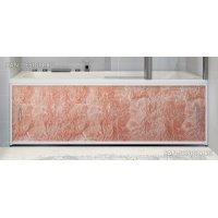 Экран под ванну Francesca Premium темно-розовый мрамор