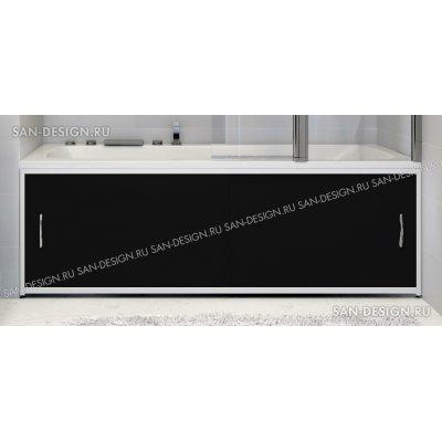 Экран под ванну Francesca Premium черный