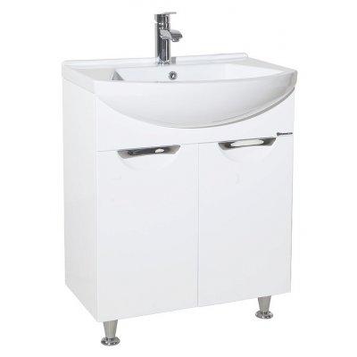 Тумба с раковиной для ванной Bellezza Альфа 55