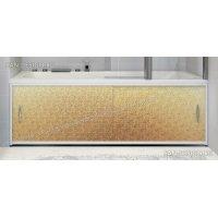 Экран под ванну Francesca Premium колотый лед золото