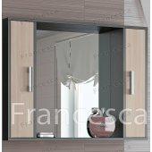Зеркало-шкаф Francesca Eco 100 дуб-венге