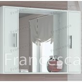 Зеркало-шкаф Francesca Eco 100 белый