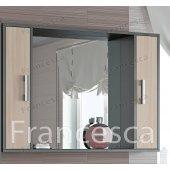Зеркало-шкаф Francesca Eco 105 дуб-венге