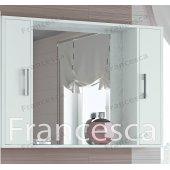 Зеркало-шкаф Francesca Eco 105 белый