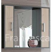 Зеркало-шкаф Francesca Eco 90 дуб-венге