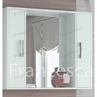 Зеркало-шкаф Francesca Eco 90 белый