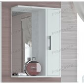 Зеркало-шкаф Francesca Eco 50 белый