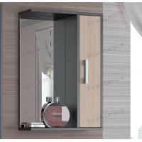 Зеркало-шкаф Francesca Eco 50 дуб-венге