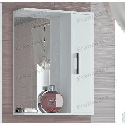 Зеркало-шкаф Francesca Eco 55 белый