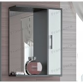 Зеркало-шкаф Francesca Eco 55 белый-венге