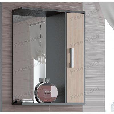 Зеркало-шкаф Francesca Eco 55 дуб-венге
