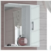 Зеркало-шкаф Francesca Eco 60 белый