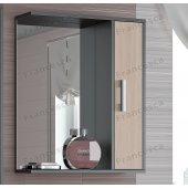Зеркало-шкаф Francesca Eco 60 дуб-венге