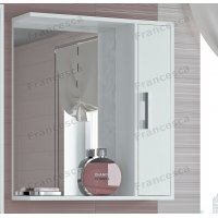 Зеркало-шкаф Francesca Eco 65 белый
