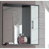 Зеркало-шкаф Francesca Eco 65 белый-венге