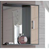 Шкаф-зеркало Francesca Eco 65 дуб-венге