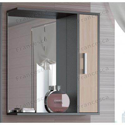 Зеркало-шкаф Francesca Eco 65 дуб-венге