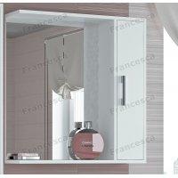 Зеркало-шкаф Francesca Eco 70 белый
