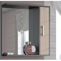 Зеркало-шкаф Francesca Eco 70 дуб-венге