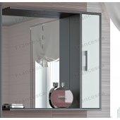 Зеркало-шкаф Francesca Eco 75 белый-венге
