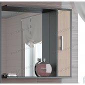 Зеркало-шкаф Francesca Eco 75 дуб-венге